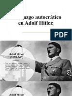 Liderazgo autocrático en Adolf Hitler