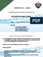 ALIVIADERO DE CANAL LATERAL - GRUPO 10