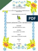 EROSIÓN, DESERTIFICACIÓN Y DEFORESTACIÓN (ana yackelin layme quiñonez)