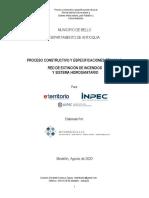 PROCESO CONSTRUCTIVO  Y ESPECIFICACIONES TÉCNICAS RCI - IHS Pabellón 2 Bellavista