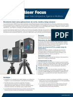 MA-RF-6214-ES - FARO Laser Scanner Focus M&S Tech Sheet-Mar2020