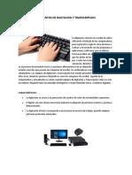 ELEMENTOS DE DIGITACION Y TRANSCRIPCION