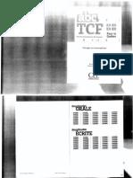 TCF - Corrigés