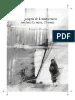 Manuela Penafria [=] O Paradigma Do Documentário