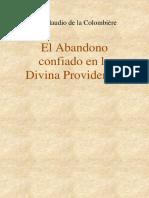 El Abandono Confiado en la Divina Providencia