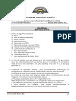 Pratica 6 - Risco e Retorno