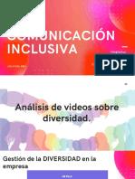Comunicación Inclusiva - Diapositivas