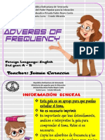 Adverbs of frequency study guide