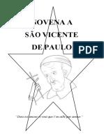Novena a São Vicente de Paulo