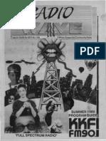 KKFI 90.1 FM - Program Guide - Summer 1989