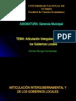 5  Articulación Intergub y de los Gobiernos Locales - 2021-I