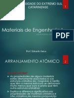Aula3-Estrutura_cristalina