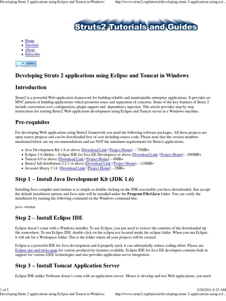 Java struts 2 tutorial image collections any tutorial examples struts 2 framework tutorial pdf images any tutorial examples developing struts 2 applications using eclipse and baditri Choice Image