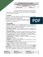 PROCEDIMIENTO IDENTIFICACIÓN DE PELIGROS, VALORACIÓN DE RIESGOS Y DETERMINACIÓN DE CONTROLES