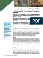 Artigo - Análise Da Alteração No Valor Do Limite Do IRI Na Qualidade Funcional de Pista e Decolagem de Aeroportos Brasileiros