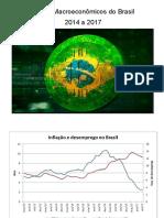 Dados Macroeconômicos do Brasil (2014 a 2017)