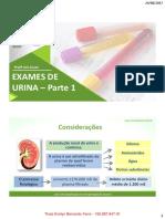 Exames de urina parte 1