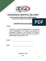 Modelo de Anteproyecto de Tesis - UCP