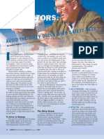 human factors avoid the dirty dozen with safety nets