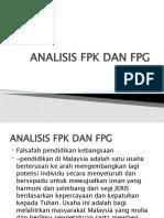 ANALISIS FPK DAN FPG