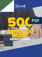 500 Questões - Banco Do Brasil
