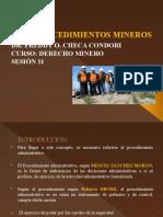 11 SESION  PROCEDIMIENTOS MINEROS (3)
