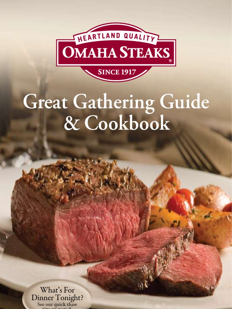 Best Burgers To Terrific T-bones Sincere Omaha Steaks The Great American Grilling Book Outdoor Cooking & Eating