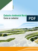 Introdução ao Cadastro Ambiental Rural-Car- Apostila 1