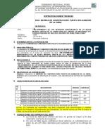 ESPECIFICACIONES TECNICAS BARRAS DE ACERO