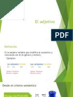 El_adjetivo
