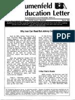 The Blumenfeld Education Letter March_1990