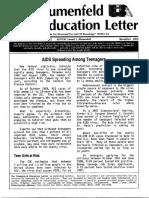 The Blumenfeld Education Letter November 1989