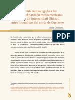 sanacion indigena plantas de Quetzalcóatl-Ehécatl entre los nahuas actuales del norte de Guerrero Lilián González