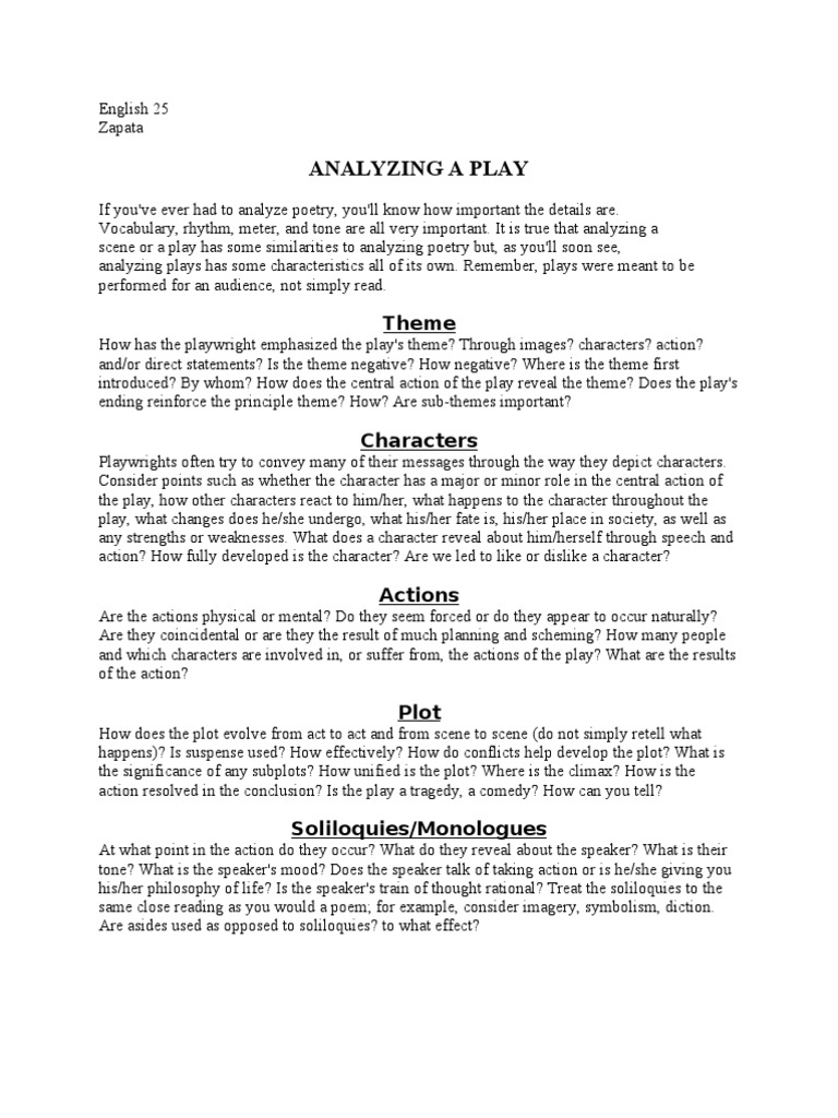 What is a play 28