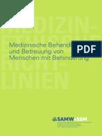 Richtlinien Samw Betreuung Behinderung