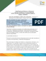 Guía 3 de Actividades y Rúbrica de Evaluación – Momento 3 – Abordaje de La Problemática y Relación Con La Normatividad