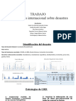 Base de datos internacional sobre desastres