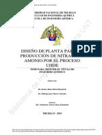 Diseño de Planta Nitrato de Amonio (1)
