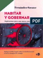 Amador Fernández-Savater, Rita Laura Segato - Habitar y gobernar _ inspiraciones para una nueva concepción política-NED Ediciones (2021)