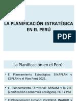 PLANEAMIENTO ESTRATEGICO EN EL SECTOR PUBLICO