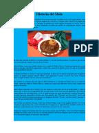 Historia del mole for Tecnicas culinarias pdf