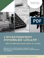 V2 - Investissement Immobilier Locatif - Bien Se Préparer Pour Mieux Se Lancer