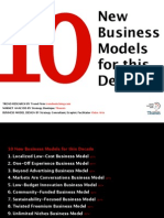 10 Business Models for this Decade