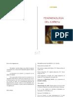 FENOMENOLOGÍA DEL ESPÍRITU. Federico Hegel