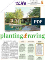 """Planting and raving"" layout"