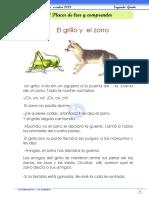 9- Lectura_ El grillo y el zorro