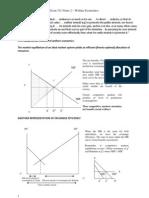 Notes 2-Welfare Economics