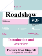 CC Roadshow 2010 Generic slide set