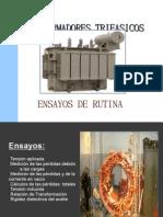 TRANSFORMADORES TRIFASICOS ENSAYOS 2