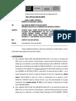 Informe Legal- Rectificacion de Resoluciones de Alcaldia